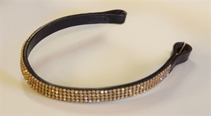 AB Golden Strass Pannband