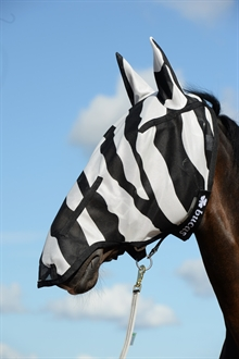 Buzz-Off Zebra Full Face Fly Mask flughuva